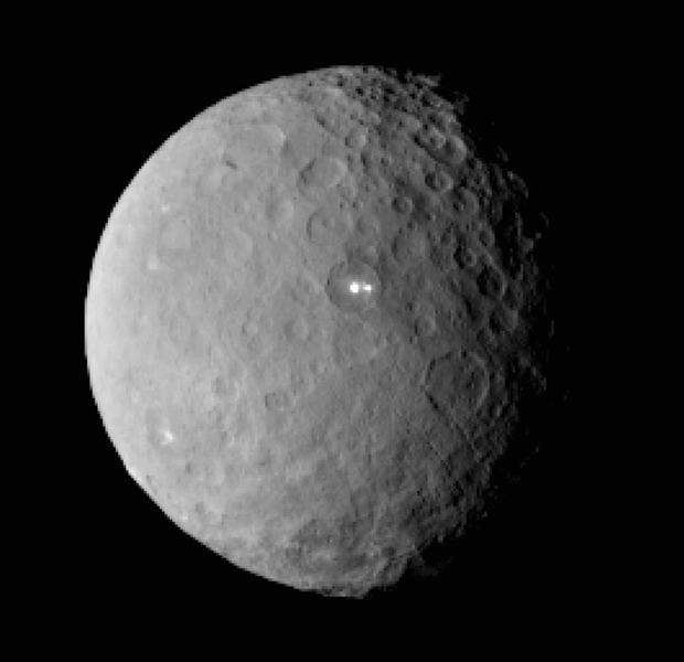 Discovered in 1801, Ceres is named after the Roman goddess of agriculture and harvest. Photo / AP