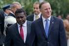 Then-Solomon Islands PM Gordon Darcy Lilo, and John Key.