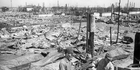 Everything was gone after the Allied firebombing in 1945. Pictures / AP