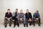 From left, Nick Carter, Kevin Richardson, Brian Littrell, Howie Dorough, and AJ McLean of Backstreet Boys. Photo / AP