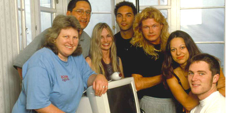 Internet Island debuted on TV2 in February 2001