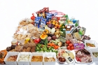 SQUANDERED: The 40kg of food shown in the image is the equivalent to six months' worth of food waste for the average New Zealand household. PHOTO/SUPPLIED