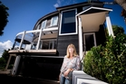 Gaye Johnson's leaky plaster house has now been reclad at a cost of $600,000. Photo / Dean Purcell