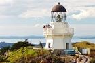 The rebuilt Manukau Heads lighthouse. Photo / Supplied