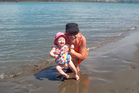 Justine McLeary at Ohiwa Harbour with her daughter Amanda. Photo / NZME.
