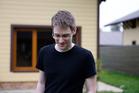 Edward Snowden in the film Citizen Four.