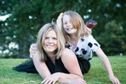 Michelle Woolley and her daughter are struggling to find a rental home in Tauranga. Photo/Jackie O Photography