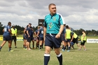 Stephen Huinga says refereeing is not a job for nitpickers. Photo / Peter Calder