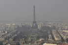This month Paris authorities  ordered a halt to fires and forced half the cars off the road as part of emergency measures triggered by a spike in air pollution. Photo / AP