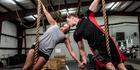 View: CrossFit couple's engagement photos