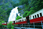 The Kuranda Scenic Railway near Cairns is one Queensland's top attractions. Photo / Queensland Tourism and Events