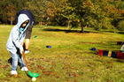 Bayview Wairakei Resort has a kids' golf programme for the school holidays. Photo / Danielle Wright