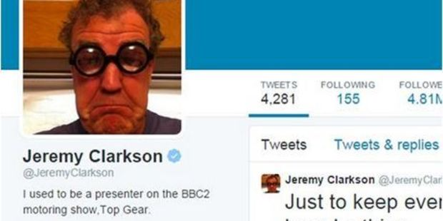 Jeremy Clarkson will go but Top Gear will stay. Photo / AP