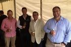 The 2015 team at Jackson Estate Geoff Woolcombe (left), Jeff Hart, John Benton and Matt Patterson-Green.