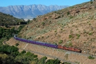 The Premier Classe train journey through South Africa is renowned for its impressive scenery. Photo / Supplied