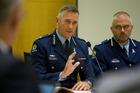 Police Commissioner Mike Bush. Photo / Mark Mitchell