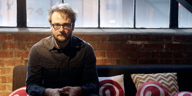 Pinterest co-founder Evan Sharp. Photo: AP.