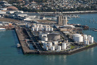 Auckland's waterfront 'tank farm' shown in 2010. The High Court says Waterfront Auckland has to pay nearly $1m in court costs to Mobil. Photo / Richard Robinson