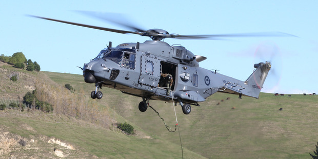 The NH90s were bought by the previous Labour government for $771 million.