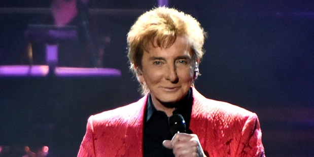 Singer Barry Manilow. Photo / Getty Images