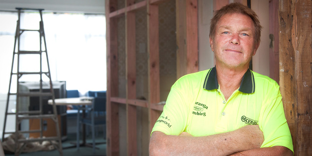 John Harper has been a plumber for 40 years and hopes to work up to or beyond retirement age