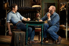 James Franco and Chris O'Dowd in Anna D. Shapiro's staging of John Steinbeck's Of Mice and Men.