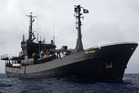 The Bob Barker has been engaged in a four-month, record-breaking pursuit of Bandit 6. Photo / supplied / Glenn Lockitch / Sea Shepherd
