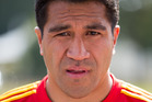 Mils Muliaina spent a full night in police custody after his arrest in the United Kingdom. File photo / Stephen Barker