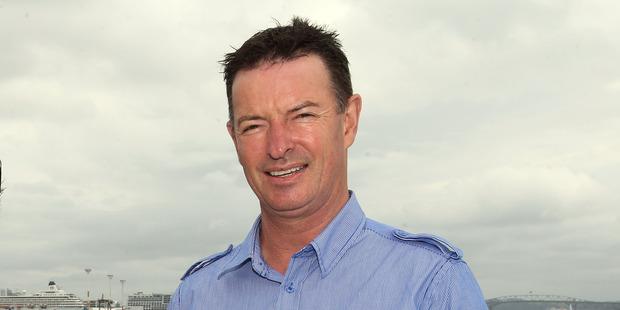 Ports of Auckland CEO Tony Gibson. Photo / Michael Bradley