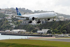 Wellington airport is investigating extending the runway by 300m to 350m in an effort to attract long-haul flights to the capital.