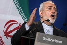 Javad Zarif's remarks appear aimed at reassuring hardliners. Photo / AP