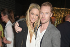 Storm Uechtritz and Ronan Keating. Photo / Getty Images