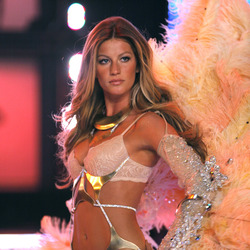 Gisele Bundchen's fashion career Gisele Bundchen walking for Victoria's Secret. Photo / Getty Images