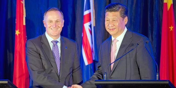 The revelation has sparked a firm Chinese diplomatic response giving rise to concerns NZ's security relationship with the US is impacting its trade relationship with China. Photo / Mark Mitchell
