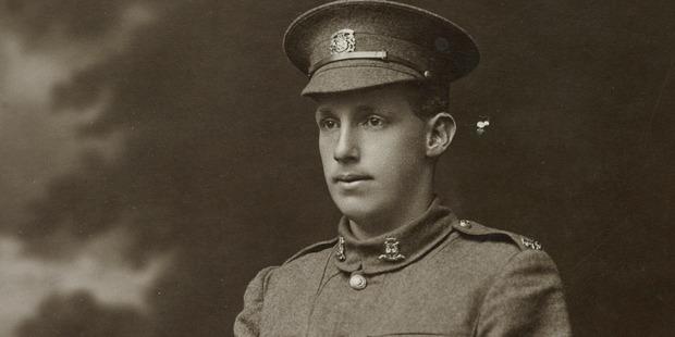 Hermann Rolfes died in a hail of machinegun fire at the Battle of Bapaume. Photo / Te Papa