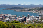 As we've done for 40 years, a mate and I sailed our Laser yachts from eastern side of Wellington harbour, across to the city's Oriental Bay. Photo / Mark Mitchell