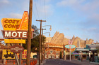 Cars Land at Disney's California Adventure Park features three immersive family attractions showcasing characters and settings from the Disney-Pixar film 'Cars'. Photo / Supplied