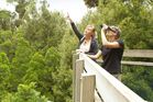 Visitors enjoy Maungatautari Mountain trees and wildlife. Photo / Bay of Plenty Times