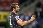 Bismarck du Plessis has been suspended for four weeks for kicking an opposition player in the head. Picture / Gallo Images