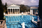 Hearst Castle and its grounds are now a museum to 1930s decadence. Photo / Creative Commons image by Wikimedia user Stan Shebs