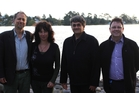 Four of the 10 Restore group members, L-R, David Menkes, Jill Masters, Aroon Parshotam, Kevin O'Shannessey.