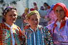 Welcoming 'Be My Guest' hostesses in the Turkish village of Demircidere. Photo / Supplied