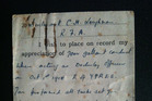 Gallipoli 100: Letter reveals bloodiest fighting