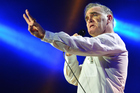 Morrissey has claimed he forced Madison Square Garden to ban all meat products ahead of his concert there on June 27. Photo / Getty Images
