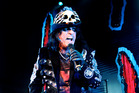 Alice Cooper on stage. (supplied)