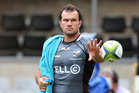 Bismarck du Plessis has completed his four-match ban for a kick to the head of a Chiefs player. Photo / Getty Images