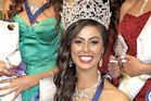 University of Otago medical student Deborah Lambie (24), of Dunedin, being crowned 2015 Miss World New Zealand. Photo / Andrew Bignall.