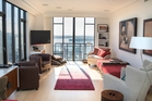 The revamp of the 32nd-floor apartment incorporates design principles that are in keeping with Indian and Chinese philosophy. Photo / Nick Reed