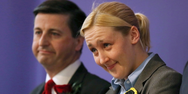 Mhairi Black. Photo / AP
