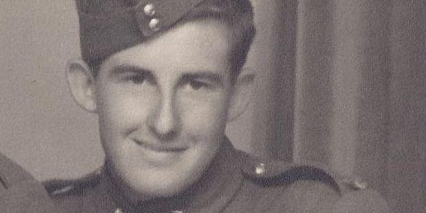 World War II veteran Alan Davis. Photo / Supplied